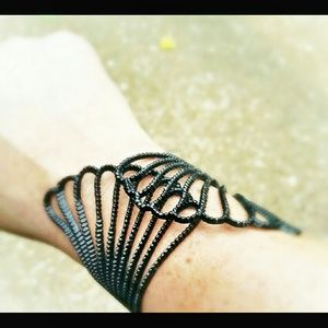 Jewelry - Angel Wing Metal Cuff