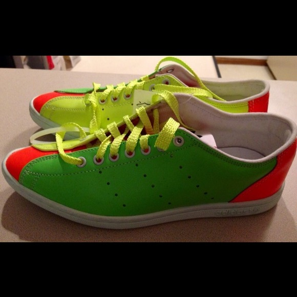80% off Jeremy Scott Shoes - Jeremy Scott x Adidas Originals Neon ...
