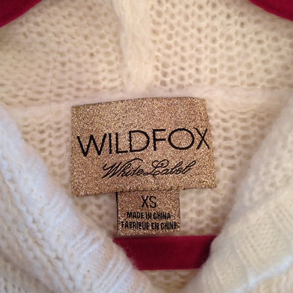67% off Wildfox Sweaters - Wildfox knit W sweater from