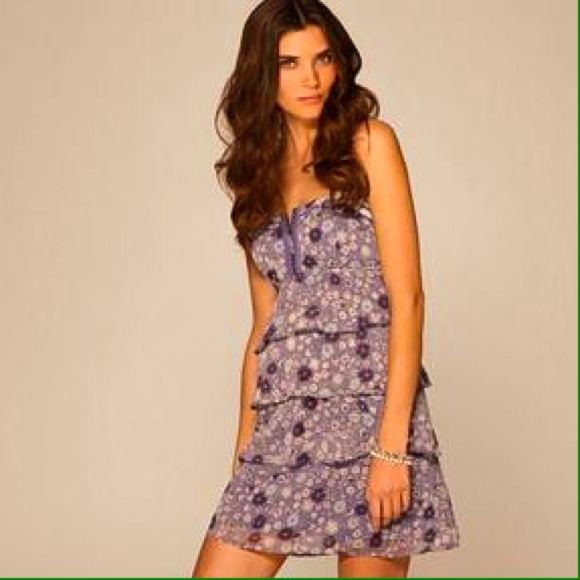 701660d4924b American Eagle Outfitters Dresses   Aeo Floral Ruffle Dress   Poshmark
