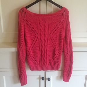 82% off American Eagle Outfitters Sweaters - American Eagle Pink ...