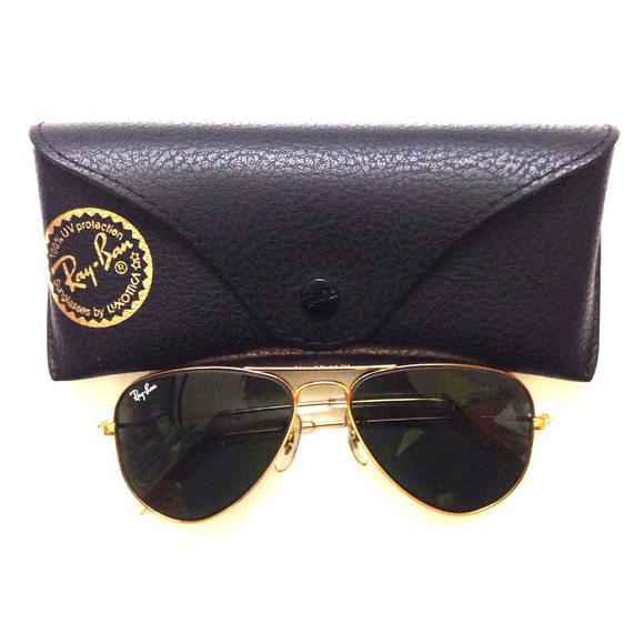 authentic ray bans  Ray-Ban - 馃敶SOLD馃敶 馃挴Authentic Ray-Ban Aviator 52mm Petite from ...