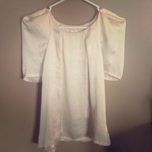 Off white blouse size X-Small