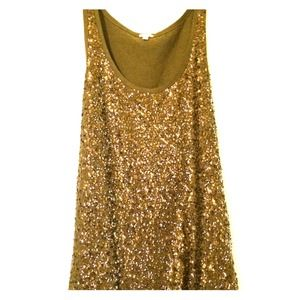Sequined J.Crew Top