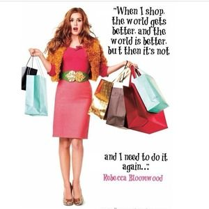 Confessions of a Shopaholic Dresses & Skirts - Rebecca Bloomwood Understands Me haha