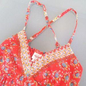 Mossimo Supply Co. Dresses - Orange floral dress