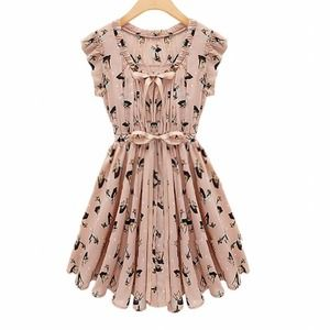 Dresses & Skirts - Flowy tie dress