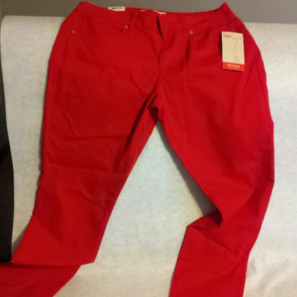 no boundaries - No boundaries red skinny jeans from Judith's ...