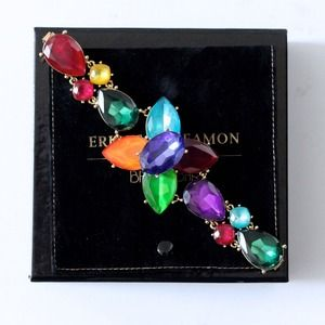 Erickson Beamon + BaubleBar Jeweled Bracelet