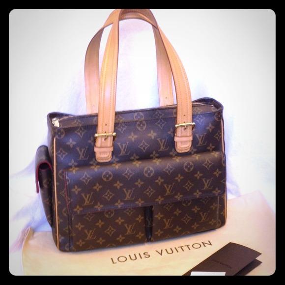 Louis Vuitton Bags   Authentic Lv Multipli Cite Gm Monogram Tote Bag ... 216d5f90e5