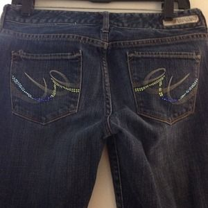 49% off Express Pants - Express jeans with back pocket design from ...