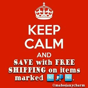 SAVE ON FREE SHIPPING!!!!