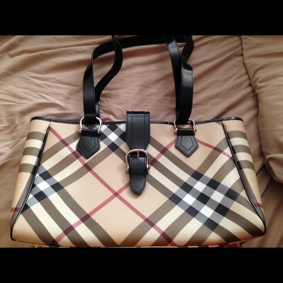 Burberry Handbags - Authentic Burberry Nova Check Diaper Baby Bag d2cbf2cd856e3
