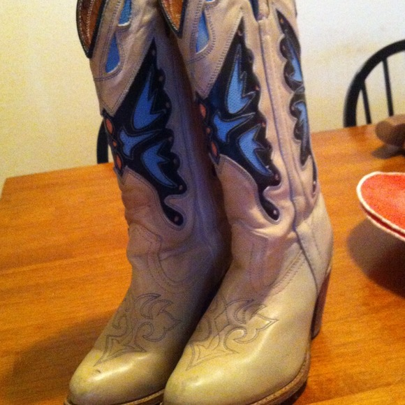 Miss capezio Schuhes   Vintage Butterfly Cowboy Cowboy Cowboy Stiefel   Poshmark 623688