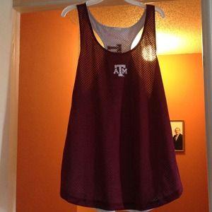 A&m tank jersey