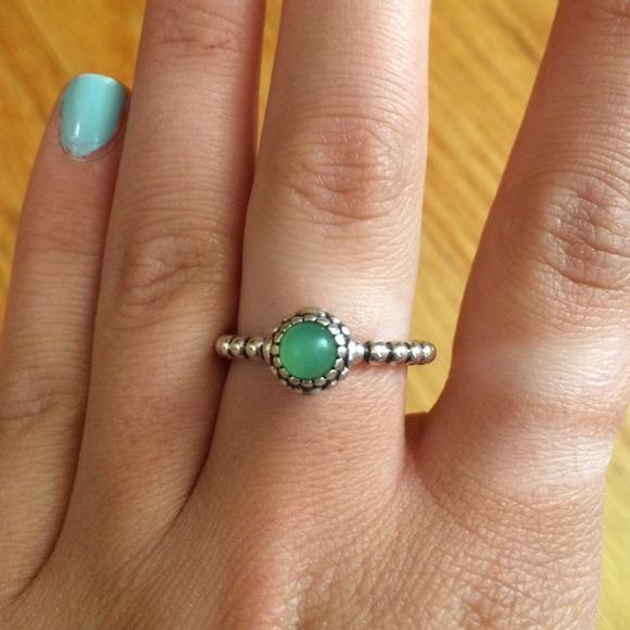 pandora ring green