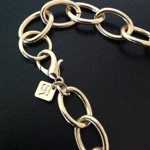 Banana Republic Jewelry - NEW gold link necklace, banana republic.