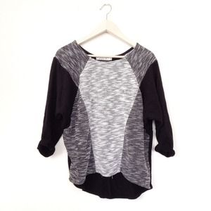 Sweaters - SALE - Black terry sweatshirt