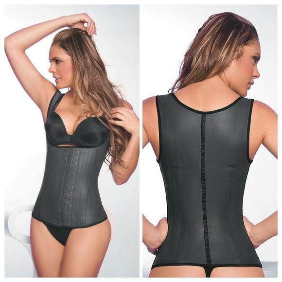 6a7295accc Ann Chery Plus Size Waist Trainer Vest Latex 5X