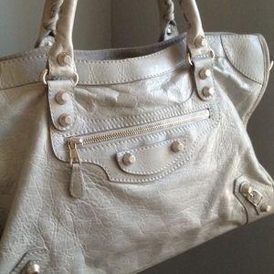 7f77ee1bbd68 Balenciaga Bags - SOLD Authentic Balenciaga City Bag in Gris Ciment