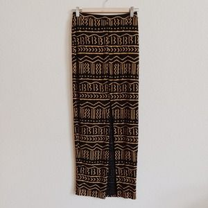 Urban Outfitters Dresses & Skirts - Slide Slit Tribal Print Maxi Skirt