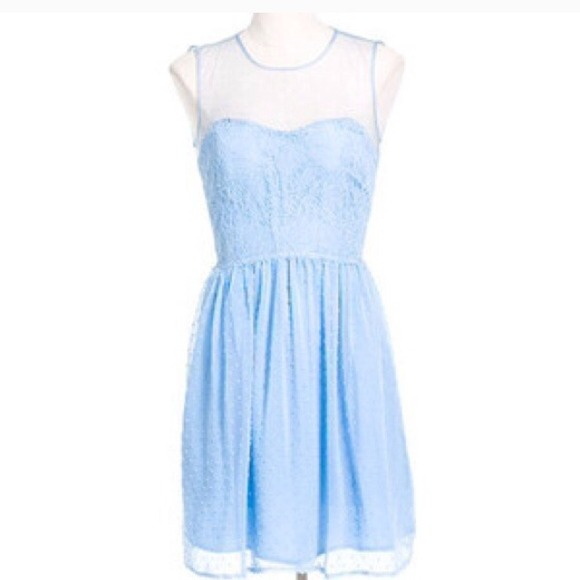 rodarte for target blue lace dress from honey s