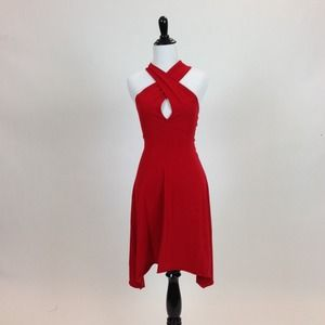 American Apparel Dresses & Skirts - 11/5 HOST PICK 🎉 Red Cotton Spandex Jersey Dress