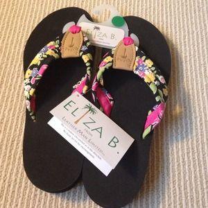 6c34c4bc0 eliza b Shoes - Eliza B size 9 flip flops