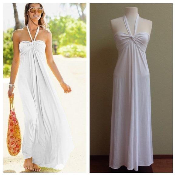 Victoria secret maxi dresses white