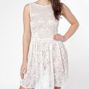 ☀️AA White Lace Dress