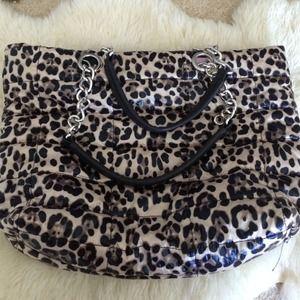 Aldo leopard print handbag