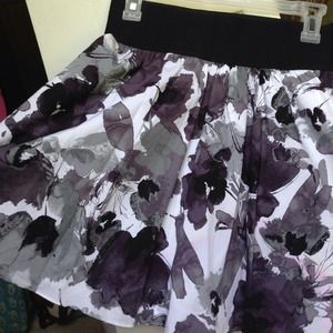 High waisted printed skirt from Express