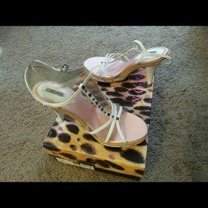 T-strap heel - Brule