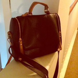 Handbags - Black Satchel Purse Bag