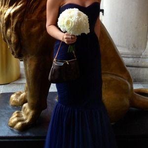 Monique Lhuillier bridesmaid dress