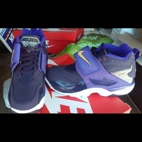 Custom diamond Nike turf shoes air zqSVpMU