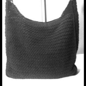 Handbags - Crochet bag *BUNDLED WITH TAN CROCHET PURSE*