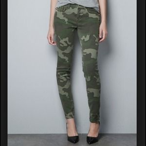 Zara Military Studded Pants