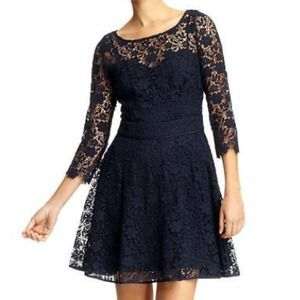 Juicy Couture 'Guipure' Lace Dress