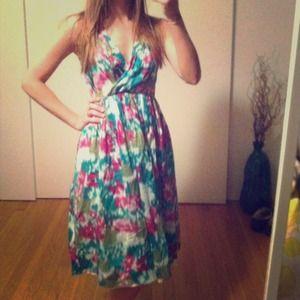 Allen B Floral Dress