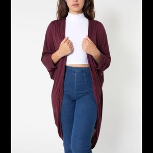 American Apparel Other - American Apparel Viscose Shawl Cardigan