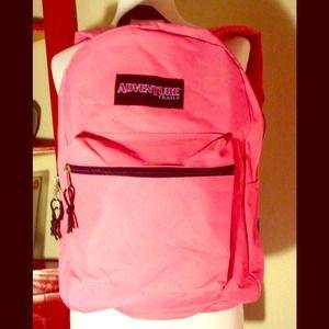 Handbags - NEW pink backpack
