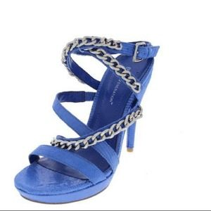 BCBGeneration Shoes - FINAL!!l🎀NIB BCBG Baltic Blue Chain Link Heels