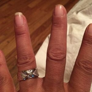 Sterling Silver cross design ring