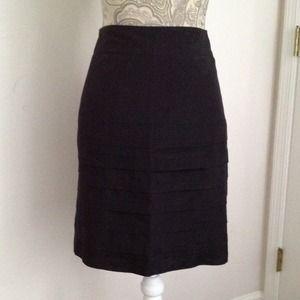 H&M black pleated skirt!