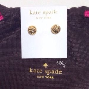 "Kate Spade ""Know the Ropes"" Stud Earrings"