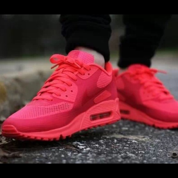 09c3628f Nike Shoes | Rare Air Max 90 Hyperfuse In Solar Red | Poshmark