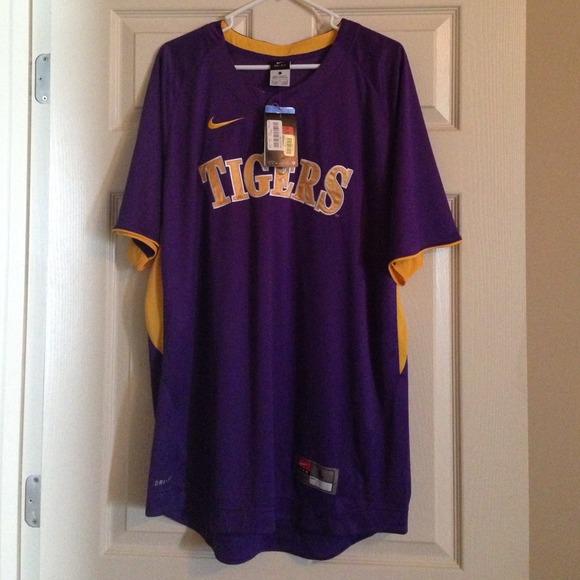 size 40 da323 e741e LSU baseball jersey NWT