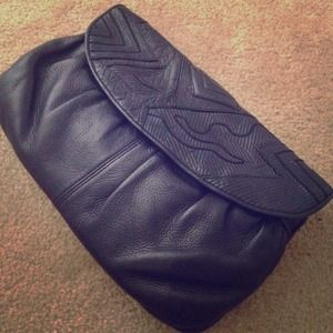 Clutches & Wallets - Vintage Clutch genuine leather