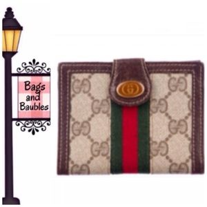 Vintage GUCCI Accessory Collection Compact Wallet
